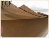 1220*2440 (4*8) panneau dur de Brown de pente E0/E1 de 2/2.5/3mm pour la décoration/meubles