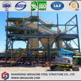 重い鉄骨構造フレームの採鉱プラント