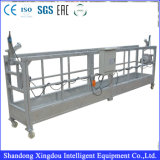 Acier/plate-forme/berceau/gondole suspendus par aluminium
