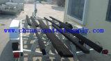 Acoplado resistente y grande de acero galvanizado del barco de los 7.3m con la cucheta a la venta Bct0108p
