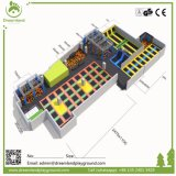 Großhandelspreis-Cer-Zustimmungs-sicherer grosser Innentrampoline-Park