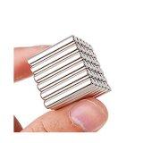 ニッケルのコーティングのネオジムのブロックの磁石の強力なN42磁石