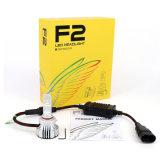 5000lm自動LED軽いF2 LEDのヘッドライトの球根72W LED自動ランプ6000K LEDの電球H4 H11 9005 9006