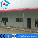 Casa d'acciaio prefabbricata di resistenza arrugginita con il rivestimento della polvere