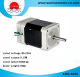 motor de poco ruido del motor BLDC del motor de la C.C. del motor 36V de la C.C. del motor eléctrico 42bl3a50