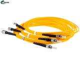 Волокна сбываний ST/PC Sm оптического волокна шнур заплаты горячего симплексного оптически