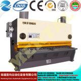 油圧版のせん断機械、油圧金属板せん断機械CNC