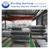 Tubo de acero Pre-Galvanizado Q235 redondo del material de construcción de Excelent