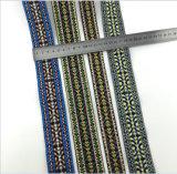 Bande colorée de lacet de garniture de modèle neuf pour des vêtements