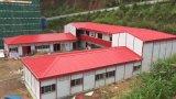 Camera prefabbricata vivente di disegno degli operai del cantiere nel basso costo