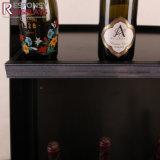 un présentoir du vin 3D de caractère présentoir acrylique et en bois de 2-Sided de cellules d'étage