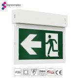 Boîte de sortie LED l/'éclairage de secours IP20 maintenu non maintenu signe de sortie