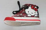 こんにちはキティの装飾のズック靴