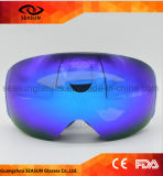 زرقاء شتاء [أوف400] عين واقية ثلج [غغّلس] مع عامة زلاجة نظّارة واقية شريط