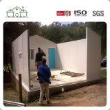Casa prefabricada de la cabina de la buena del aislante de emparedado instalación rápida prefabricada del panel