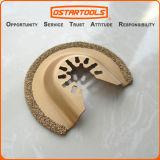 le demi-cercle multi de oscillation d'outil de carbure de 64mm (2-1/2 '') scie la lame