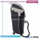 Interruptor Q ND YAG Laser tatuagem remover olhos vermelhos máquina de Remoção da Linha