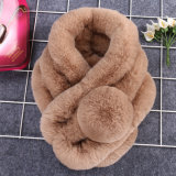 Scialle di vendita caldo della pelliccia del coniglio di 2017 Rex. Sciarpa