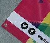 Impresión modificada para requisitos particulares al aire libre que hace publicidad de la impresión de Digitaces de la bandera del PVC del vinilo (SS-VB24)