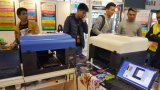 Stampatrice della maglietta di formato A3 sulla stampante dell'Asia DTG del tessuto di cotone