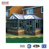 Vitrage en aluminium résidentiel Terrasse solarium profiter du soleil