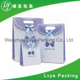 Comercio al por mayor impresas personalizadas de diseño bolsa de papel de regalo