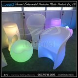Hot Sell Rechargeable LED Drum Chair LED Furniture para Bar