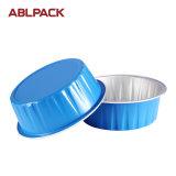 Envolturas redondas coloridas de gama alta de la hornada del papel de aluminio de la torta del mollete