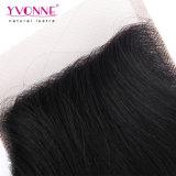 Закрытие верхней части волос девственницы свободно перевозкы груза волос Yvonne бразильское