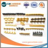 Herramientas de corte de carburo de tungsteno, CNC Inserciones de carburo de tungsteno