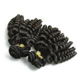 Виргинские Индийского океана волна индийских волос Реми вьются волосы