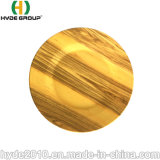 Biodegradierbare gelbe Eco Nahrungsmittelbehälter-Plastikimbiss-Umhüllung-Platten-Bambusfaser-Platte