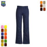 安く65%ポリエステル35%綿の女性作業ズボン