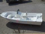 19FT 50HP釣のための灰色カラーガラス繊維のパンガ刀のボート