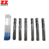 Alto carburo Polished Endmill para el corte