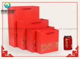 Sacchi di carta impaccanti della caramella del regalo poco costoso su ordinazione con il marchio variopinto di stampa