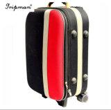 Популярный дизайнер контрастный цвет поездки посадочный талон случае тележка для багажа