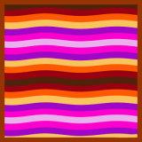 しまのあるプリントスカーフは、100%Silkカスタム設計する