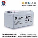 Batteria ricaricabile del ciclo profondo per la batteria al piombo solare del sistema 12V 60ah