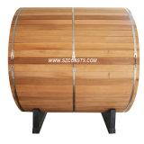 Camera esterna di sauna di sauna di legno del barilotto del cedro rosso 20 anni di fabbrica