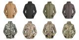 Cp de caparazón blando de los hombres chaqueta impermeable al aire libre Comandante Militar de untar