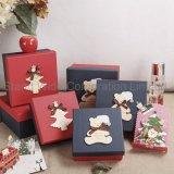 Caja de regalo de papel, el anidamiento de cajas de regalo de navidad personalizado