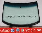 Het automobiele Glas van Delen voor het Windscherm /Windscreen van V.W B5
