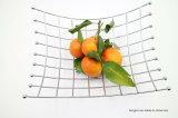 Umweltfreundlicher runder Metallküche-Frucht-Halter-Korb