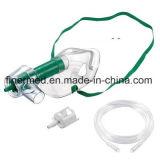 Máscara de oxígeno disponible plástica médica portable