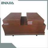 FRP/GRP Molded Grating with Mesh Public garden