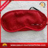 赤い色刷のビジネスクラスの目マスク