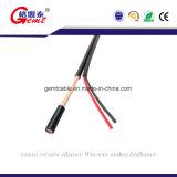 Медь провела Fpe изолированный RG59 RG6 ОАС оплетки коаксиального кабеля