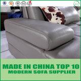 Moderno em pele genuína de grãos superior italiano Sofá cama Exact