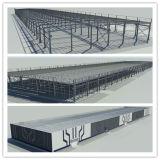 Edifícios Prefab do metal da casa da construção de aço